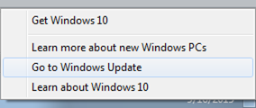 Go to Windows Update