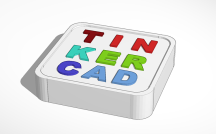 Tinkercad log in 3D