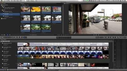Screenshot of Final Cut Pro